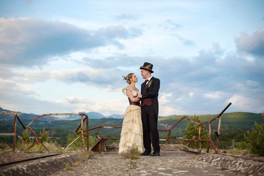 mariage atypique steampunk – justine & benjamin - bylove photographie